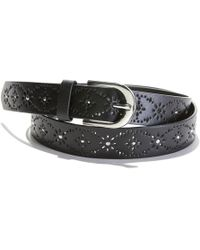 La Redoute - Studded, Perforated Belt - Lyst