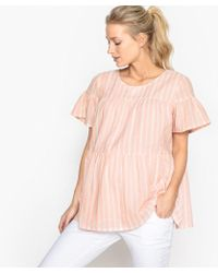 LA REDOUTE | Striped Maternity Blouse | Lyst