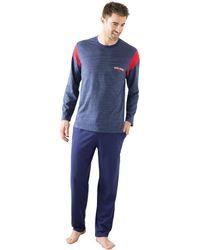 Athena - Long-sleeved Long Pyjamas - Lyst
