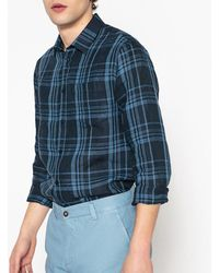 La Redoute - Slim Fit Checked Shirt - Lyst