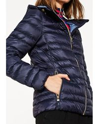 Esprit - Padded Jacket With Hood - Lyst