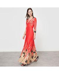 La Redoute - Floral Print Maxi Dress - Lyst