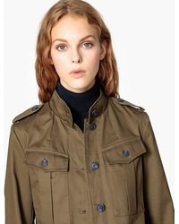 La Redoute - Cotton Utility Jacket - Lyst