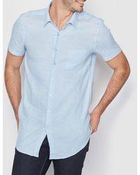 La Redoute - Straight Cut Linen Shirt - Lyst