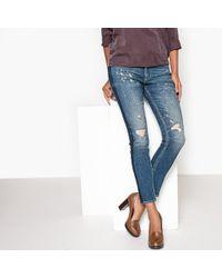 Le Temps Des Cerises - Regular Straight Leg Denim Jeans - Lyst