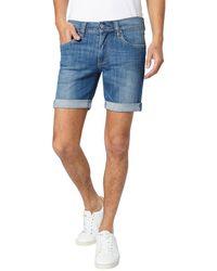 Pepe Jeans - Cane Short Stretch Cotton Denim Bermuda Shorts - Lyst