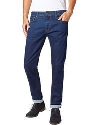 """Pepe Jeans - Straight Cotton Regular Jeans 28.5"""" - Lyst"""