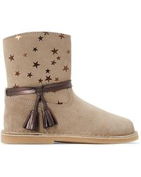 La Redoute - Leather Boots With Star Design, Sizes 26-37 - Lyst