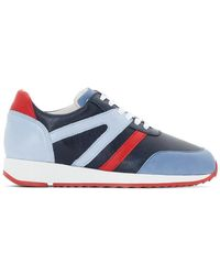 La Redoute - Retro Leather Running Shoes - Lyst