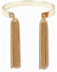 LA REDOUTE | Bracelet With Metal Tassels | Lyst