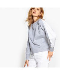 La Redoute - Two-tone Sweatshirt - Lyst