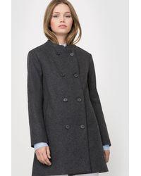 LA REDOUTE | Collarless Straight Cut Coat | Lyst