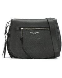 afd98b5ca8b3 Marc Jacobs - Recruit Nomad Shadow Leather Saddle Bag - Lyst
