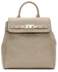 3866e5bd3015 Michael Kors - Addison Truffle Pebbled Leather Backpack - Lyst