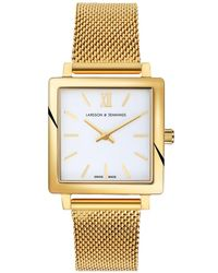 Larsson & Jennings - Norse Gold-plated Watch - Lyst