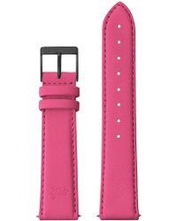 Larsson & Jennings - 20mm Neon Pink/black - Lyst