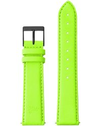 Larsson & Jennings - 20mm Neon Green/black - Lyst