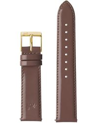 Larsson & Jennings - 20mm Patent Mink Pink/gold - Lyst