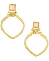 Stephanie Kantis - Tier Door-knocker Earrings - Lyst