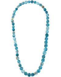 Nest - Apatite Long Necklace - Lyst