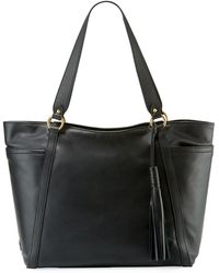 Cole Haan - Gabriella Smooth Leather Tote Bag - Lyst