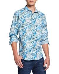 Robert Graham - Men's Capouano Long-sleeve Sport Shirt - Lyst