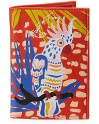 Neiman Marcus - Tropical Bird Passport Cover - Lyst