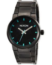 Nixon - 39.5mm Cannon Bracelet Watch - Lyst