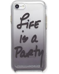 Rebecca Minkoff - Life Is A Party Ombre Phone Case - Lyst
