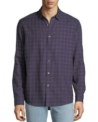 Michael Kors - Men's Roman Check Sport Shirt - Lyst