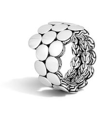 John Hardy - Dot Double-coil Ring Size 7 - Lyst