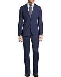 Neiman Marcus - Solid Wool Two-piece Suit - Lyst