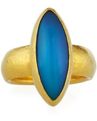 Gurhan - 24k One-of-a-kind Marquise Ring - Lyst