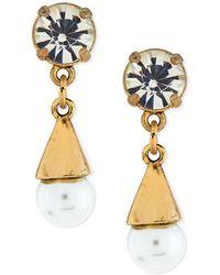 Lulu Frost - Lustre Glass-pearl Earrings - Lyst