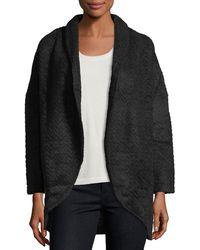 Neiman Marcus - Shawl-collar Cocoon Jacket - Lyst