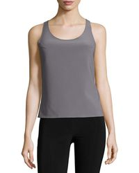 Norma Kamali - Racer Active Combo Top - Lyst