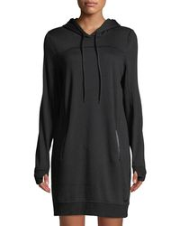 Marc New York - Fabulous Fleece Hoodie Shift Dress - Lyst