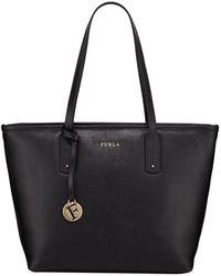 Furla - New Daisy Medium Saffiano Leather Shoulder Tote Bag - Lyst