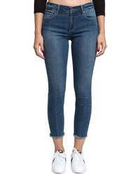 Pistola - Audrey Mid-rise Seamed Skinny Jeans - Lyst