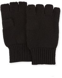 Neiman Marcus - Men's Cashmere Fingerless Gloves - Lyst