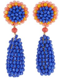 Nakamol - Beaded Circle & Teardrop Earrings - Lyst