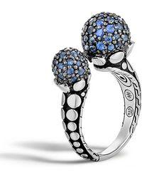 John Hardy - Dot Blue Sapphire Ring - Lyst