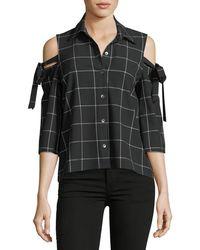 Waverly Grey | Mindy Cold-shoulder Top | Lyst