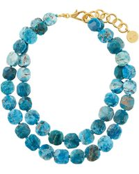 Nest - Apatite Double-strand Necklace - Lyst