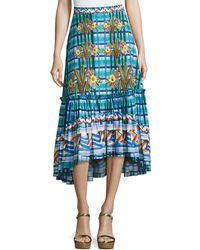 Peter Pilotto - Printed Skirt - Lyst