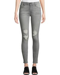 Parker Smith - Kam Mid-rise Skinny Jeans - Lyst