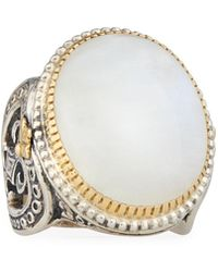 Konstantino - Erato Large Oval Labradorite Ring - Lyst