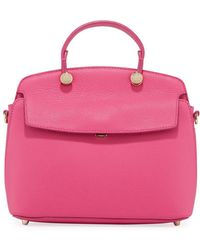 Furla - My Piper Small Leather Top Handle Bag - Lyst