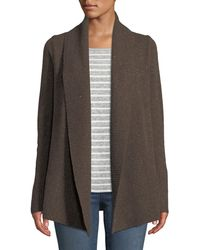 Neiman Marcus - Cashmere Open-front Duster Cardigan - Lyst