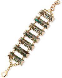 Lulu Frost - Chatelet Multi-link Bracelet - Lyst